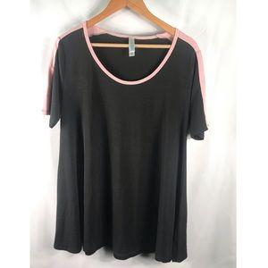 LuLaRoe Women's Classic T Medium Black Tshirt